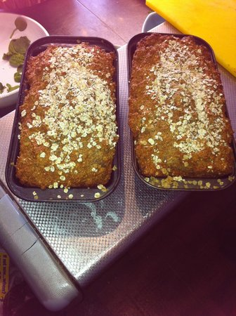 The Harvest Kitchen: Our Homemade Brown bread