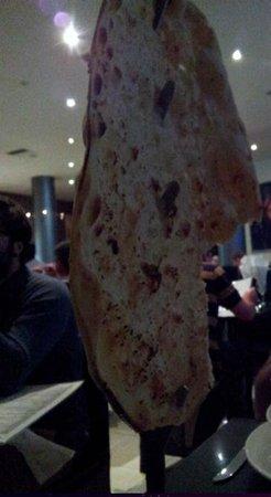 Akbars: giant naan