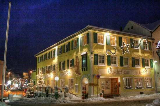 Romantik Hotel Hirschen: Hirschen in winter