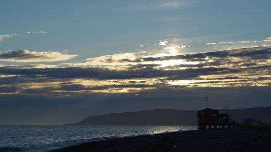 Captain Patties Fish House: On beach behind restaurant