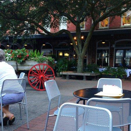 City Market: Outside Vinnie Van Go Go's