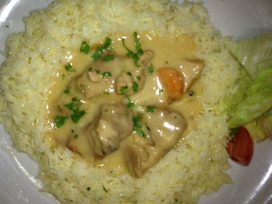 Restaurant Saetone: Blanquette de veau et son riz
