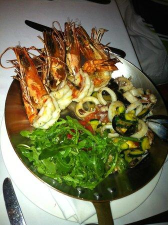 Frankie's Italian Bar & Grill : Spadellata di frutti di mare