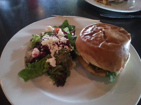 Bleu Olive : Lamb Burger