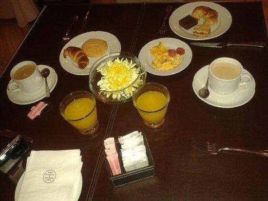 Huentala Hotel : Desayuno