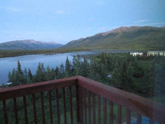 Denali Lakeview Inn : View from our room's patio