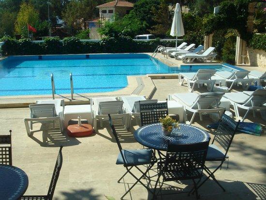 Habesos Hotel : havuz