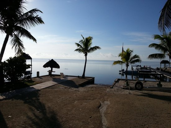 Sands of Islamorada Hotel: view from the deck