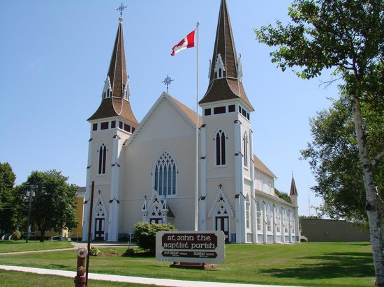 Miscouche  Historic Catholic  Church