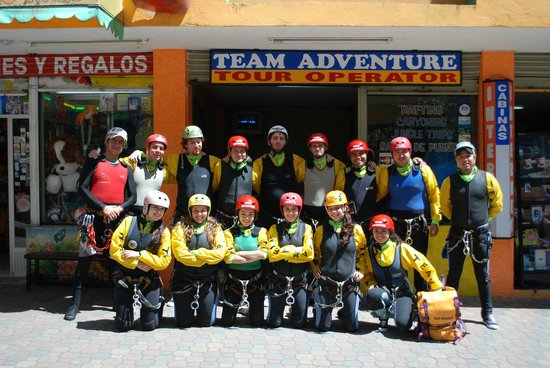 Team Adventure Banos Ecuador
