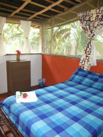 Calm Cabins Tulum: Rustic private room shared toilet