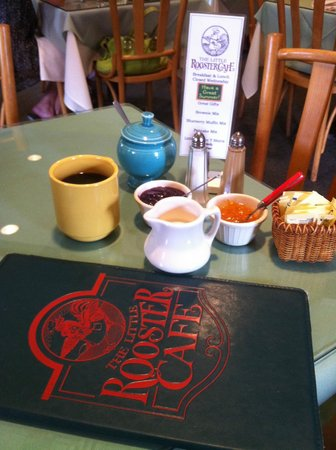 Little Rooster Cafe: Good hazelnut coffee