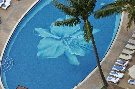 Sheraton Waikiki: Orchid Pool.