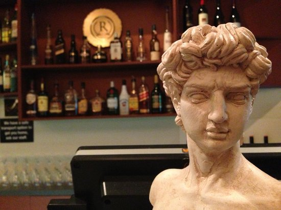 When In Rome: David at the bar