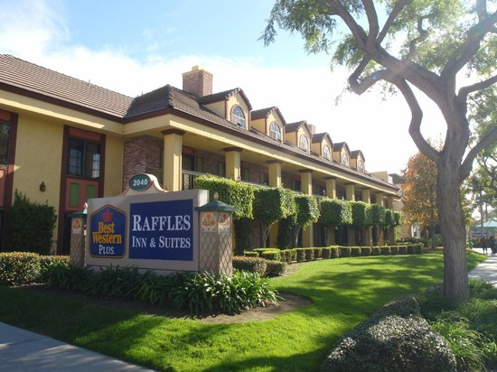 Best Western Plus Raffles Inn & Suites: Maticulous care of property and Grounds! Up to Disney Standards for sure!