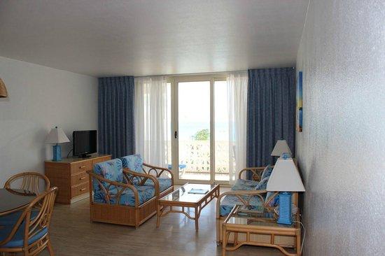 Royal Islander Club La Plage : Living room