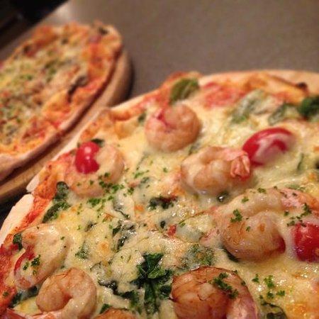When In Rome: Gamberoni Pizza