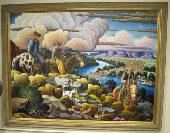 "Roswell Museum & Art Center: ""Cattke Kings of the Pecos"" by Kim Wiggins"