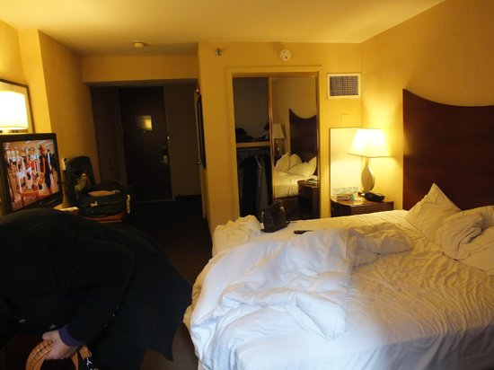 Hampton Inn Manhattan : quarto