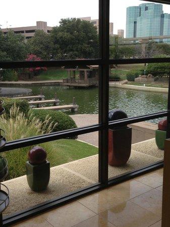Omni Mandalay Hotel at Las Colinas : View from the Spa