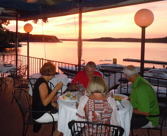 The Duck: Sunset dining!