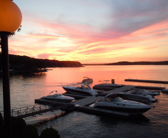The Duck: Guest boats enjoy the calm waters of Duck Harbor