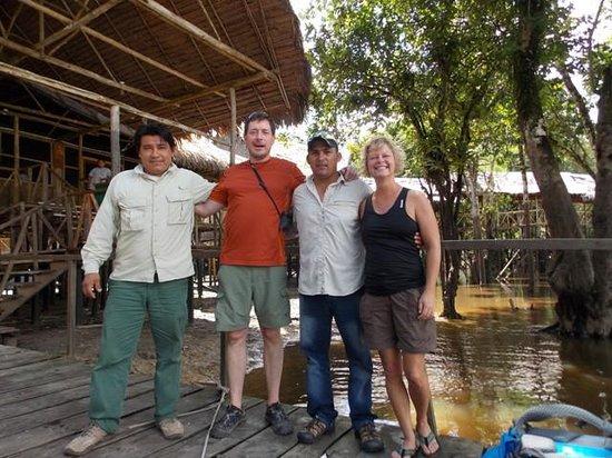 Amazon Refuge: Blumer, Juan Carlos and us