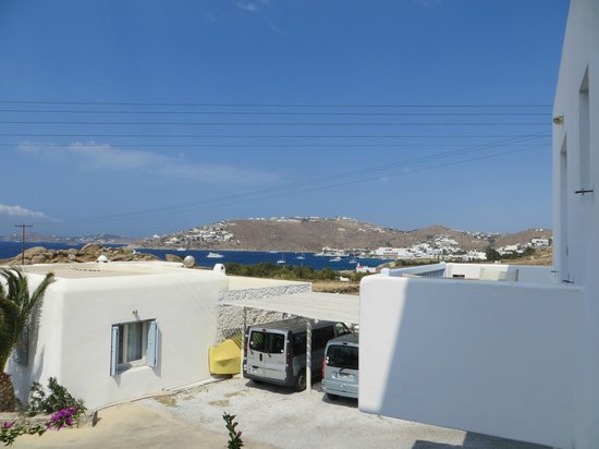 Zephyros Hotel : View from room