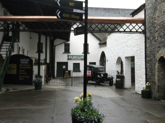 Old Kilbeggan Distillery: Entry to Kilbeggan Distillery