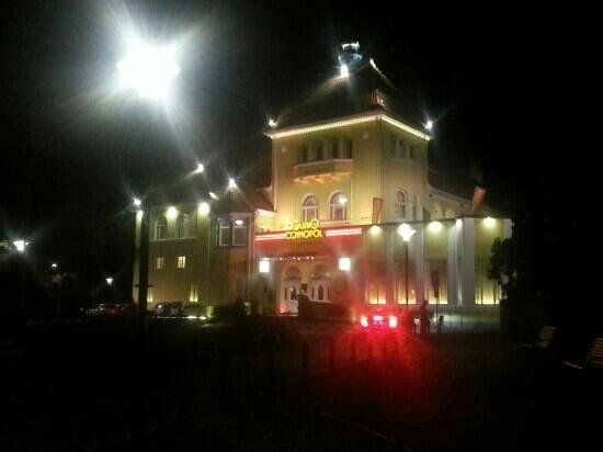 Casino Cosmopol: Vista notturna casinò Cosmopol