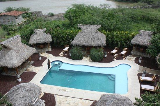 Hotel Popoyo: Piscina