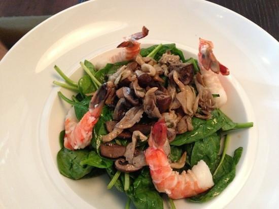 NOPA Kitchen & Bar: shrimp Salad