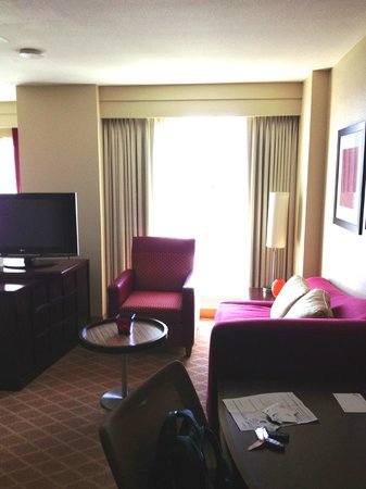 Residence Inn Sacramento Downtown at Capitol Park: Living area
