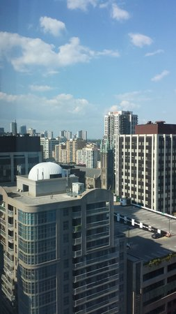 Cambridge Suites Toronto: view from window