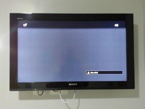 Veleiros Mar Hotel: TV sem sinal
