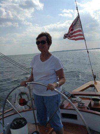 Schooner Woodwind: On Board the Schooner