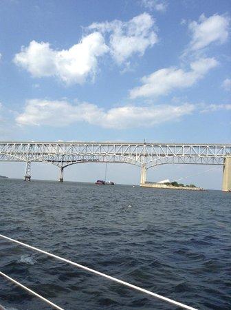 Schooner Woodwind: The Bay Bridge