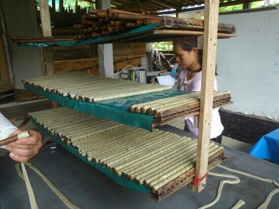 Bamboo Nest de Chiang Rai: Chinese village processing vegetarian food