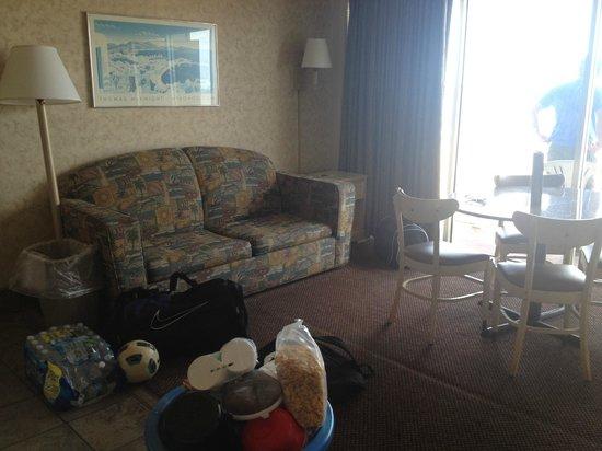 Marjac Suites Sofa In Living Area