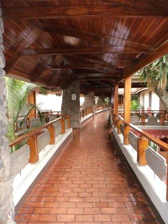 DoubleTree by Hilton Hotel Cariari San Jose: pasillos internos abiertos, lindos