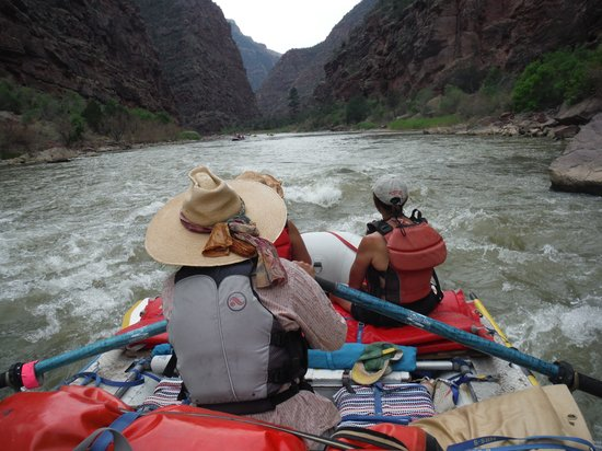 Dinosaur River Expeditions - Private Day Tours : Rafting down the river