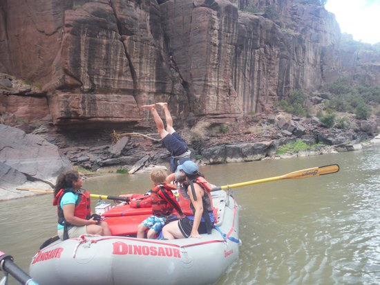 Dinosaur River Expeditions - Private Day Tours : Fun crew