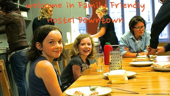 Hostel Downtown is family friendly hostel in Prague