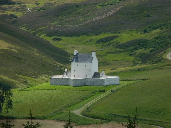 Corgarff Castle: View from the north