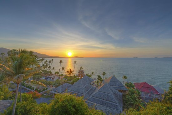 Fair House Villas & Spa: Sunset View