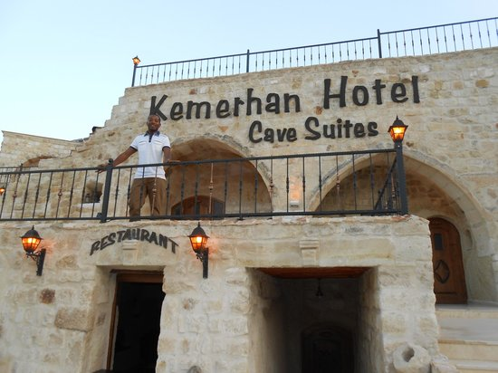Kemerhan Cave Suites: Vista incrivel do hotel