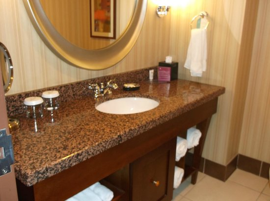 Crowne Plaza Milwaukee West Hotel : plenty of room on sink