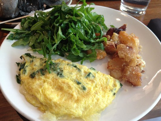 Sanctuary T: Yummy and healthy kale omelette