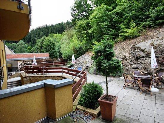 Hotel Habichtstein: Liegebereich