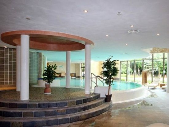 Hotel Habichtstein: Indoor Pool